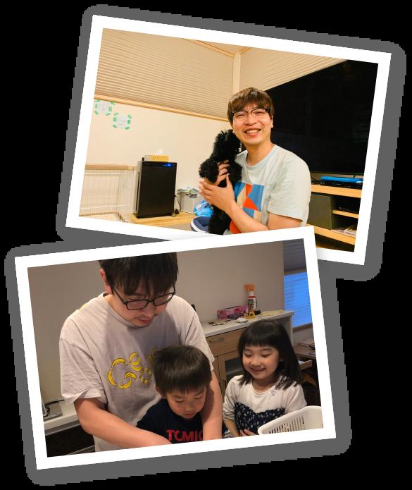 庄司岳史先生 家族写真